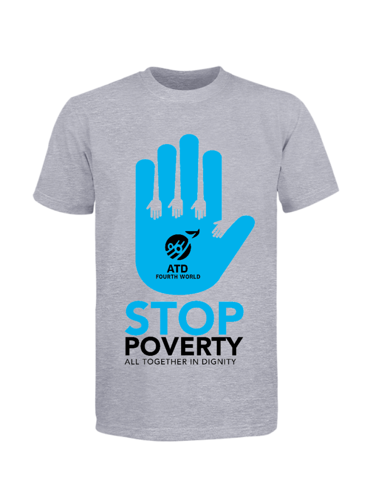 Stop Poverty Together ATD T-shirt