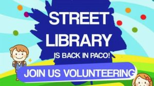 Street Library in Paco, Manila @ ATD Office