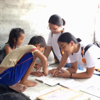 ANg Galing Literacy Literacy Tutorials by ATD Volunteers at Manila North Cemetery